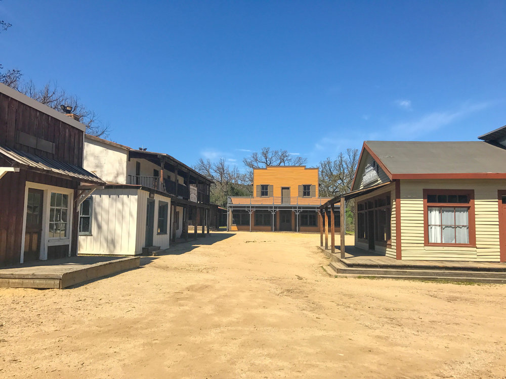 Paramount Ranch Western Town Set seen in Westworld