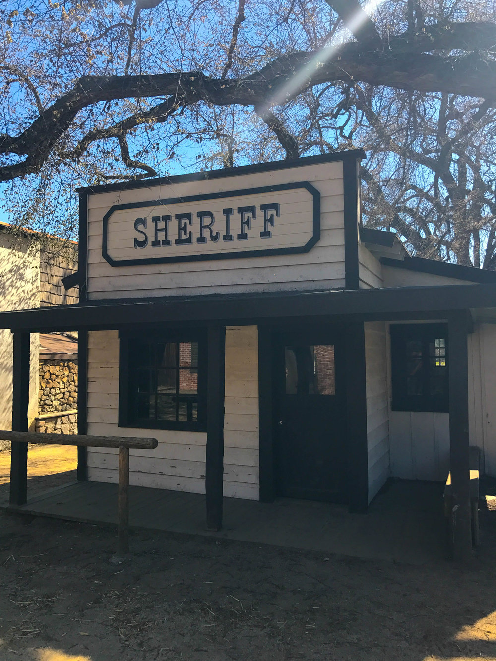 Paramount Ranch Western Town Set - Sheriff Station