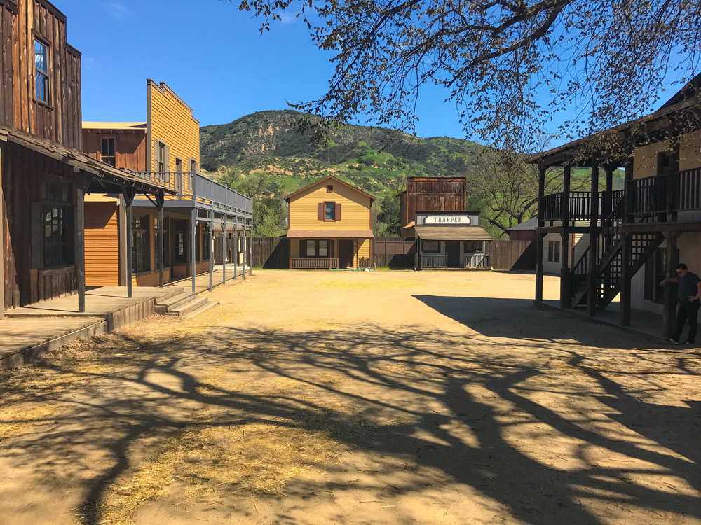 Paramount Ranch Western Town TV and Movie Set