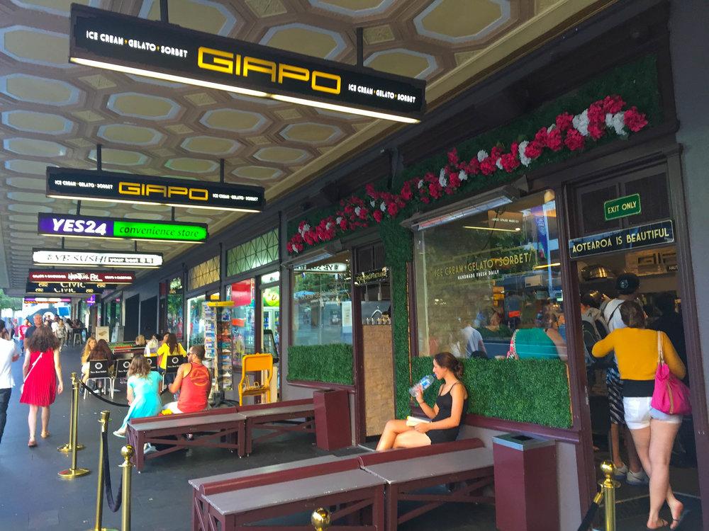 New Zealand Travel Giapo Best Ice Cream