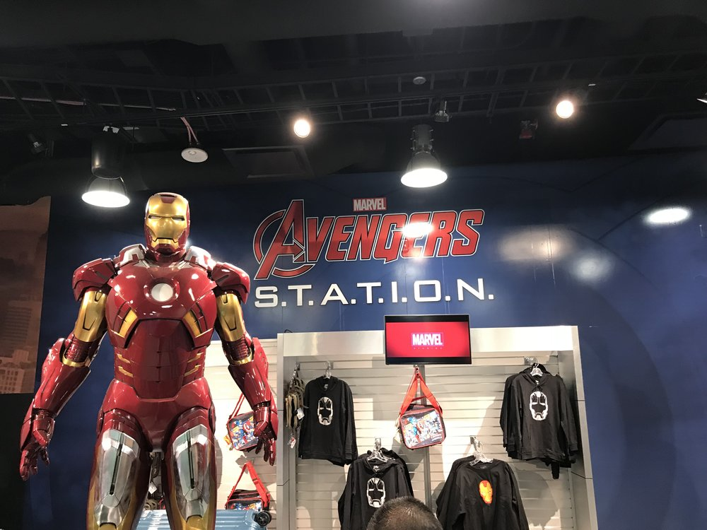 Marvel Avengers Station Things to do in Las Vegas - Ironman