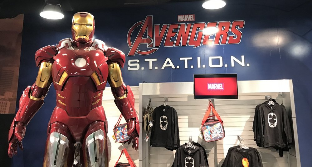 Marvel Avengers Station in Treasure Island Las Vegas - Visit Ironman, Thor, Hulk, Captain America