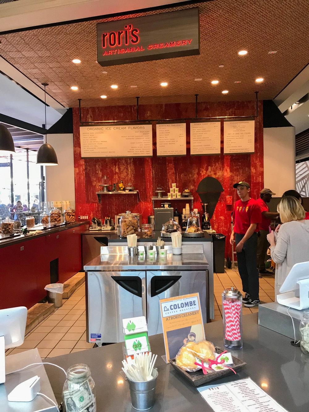 Rori's Artisanal Creamery Ice Cream Century City