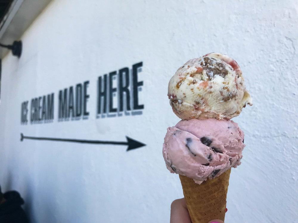 Ginger's Divine Ice Cream Cone - Best Ice Cream in Los Angeles