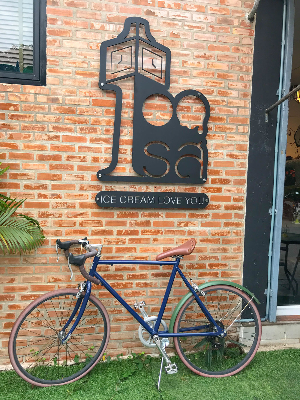 Ice Love You Chiang Mai Ice Cream bike
