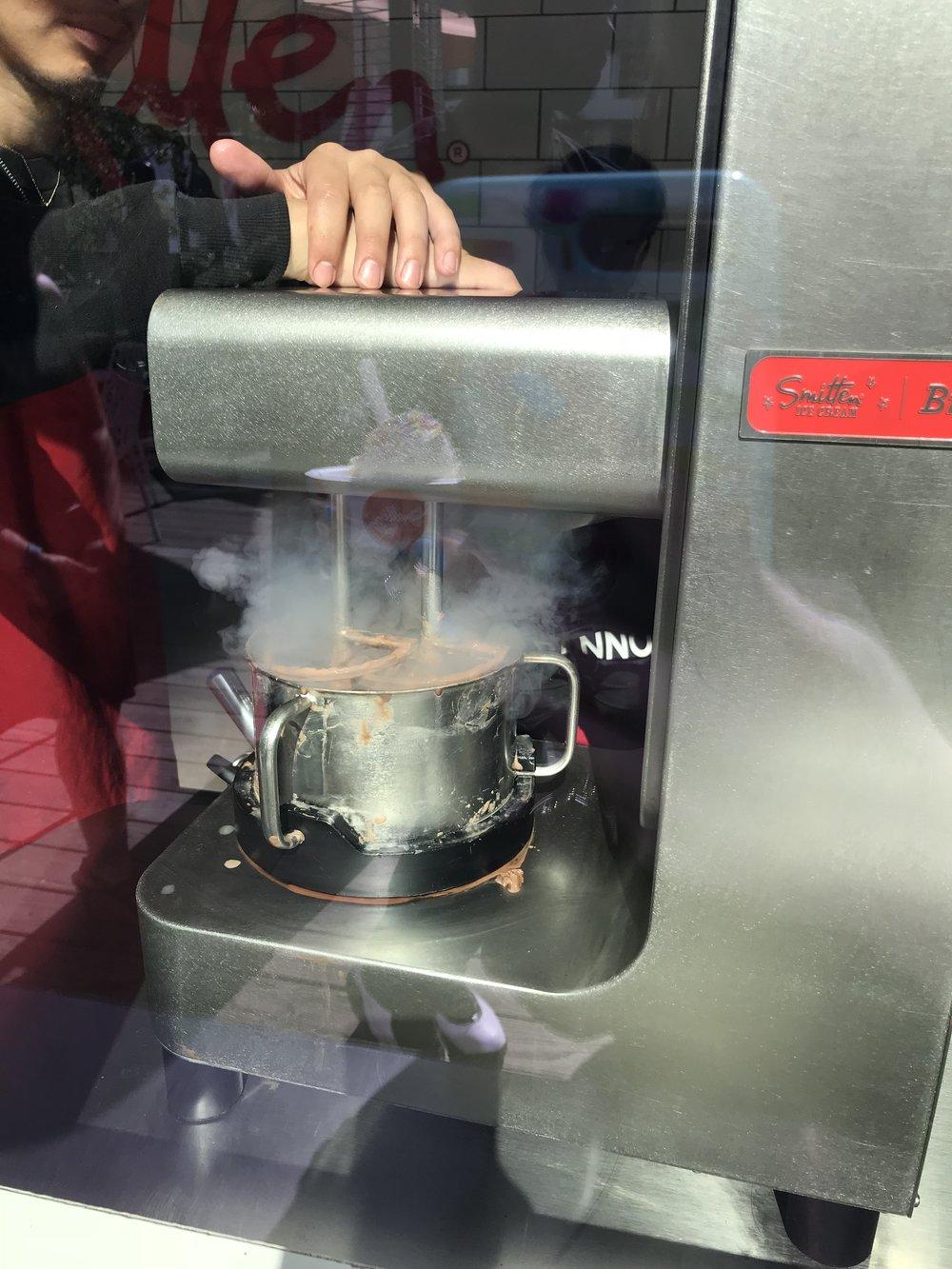 Smitten Ice Cream Brrr Machine