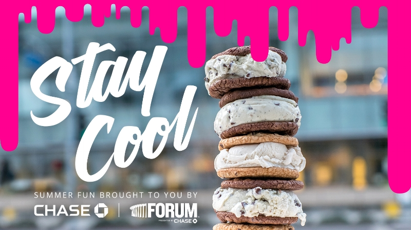 Chase Forum_Coolhaus IceCreamTruck_Free Ice Cream all summer
