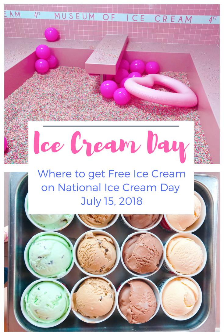 National Ice Cream Day 2018 - Where to get free ice cream