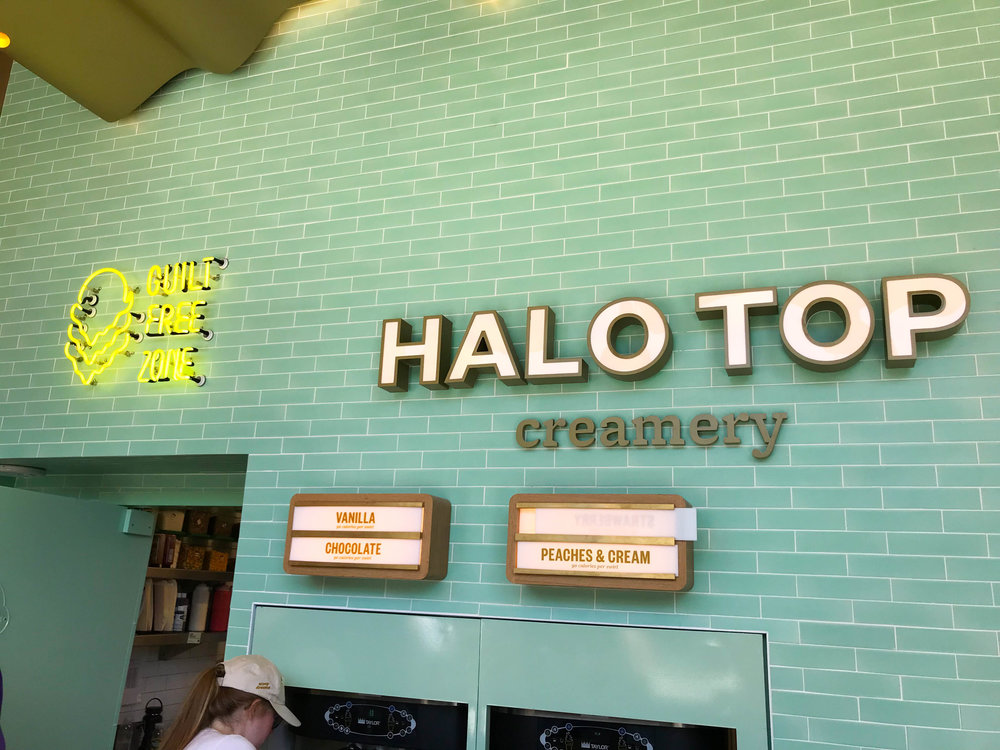 Halo Top Scoop Shop - Soft Serve Flavors