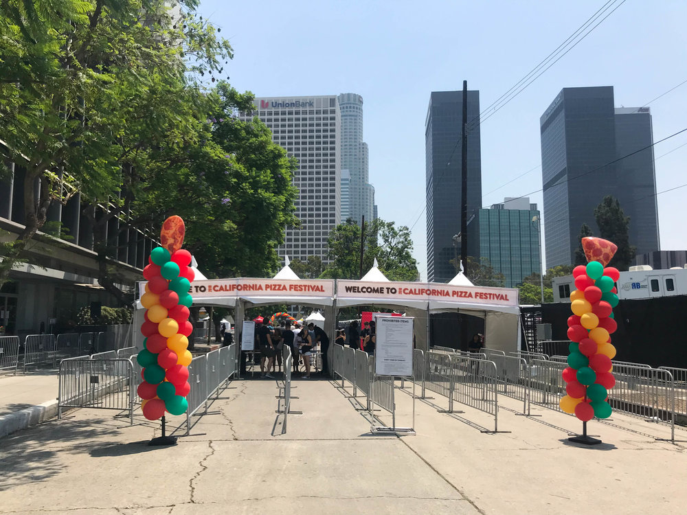 California Pizza Festival - Entrance