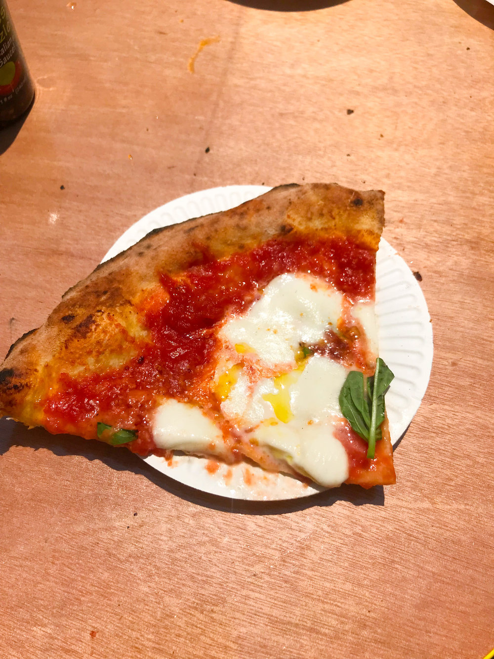 California Pizza Festival - pizza slice