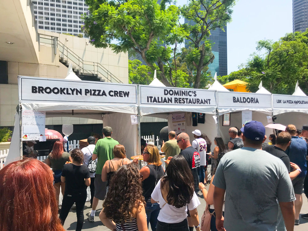 California Pizza Festival - Pizza Booths