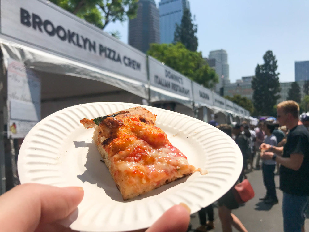 California Pizza Festival - Brooklyn Pizza