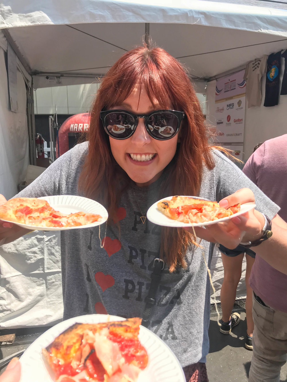 California Pizza Festival - I love Pizza!