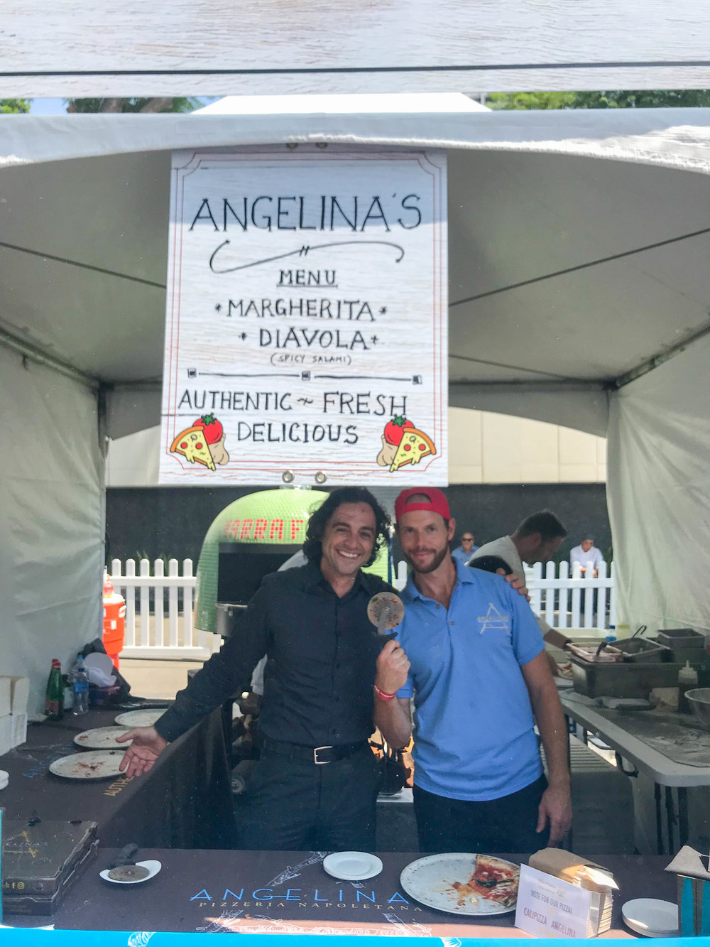 California Pizza Festival - Angelina's Pizza