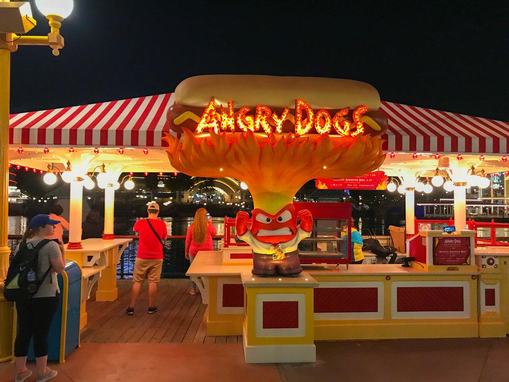 Disneyland_Pixar_Fest - Pixar Pier - Angry Dogs - Inside Out