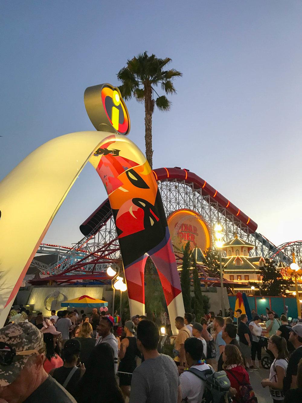Disneyland_Pixar_Fest - Pixar Pier - Incredicoaster
