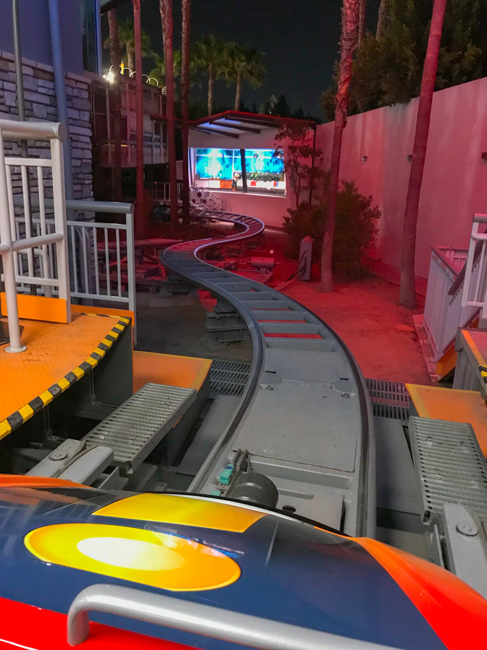 Incredicoaster Front Row - After