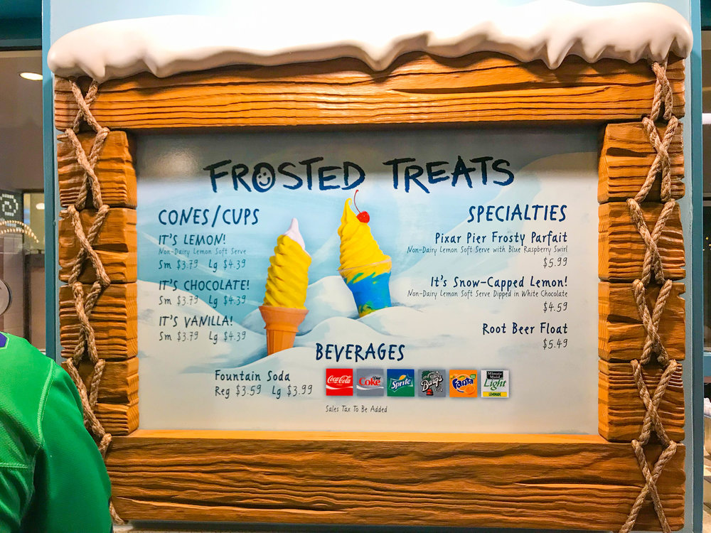 Disneyland_Pixar_Fest - Frosted Treats - Pixar Pier Ice Cream