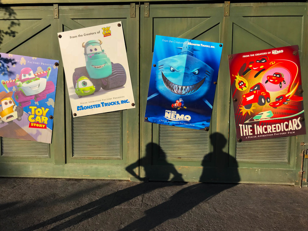 Disneyland_Pixar_Fest - Pixar Movie Titles with a twist