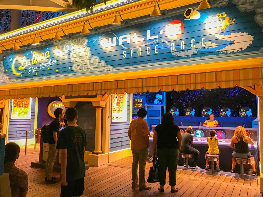 Pixar Pier Boardwalk Games