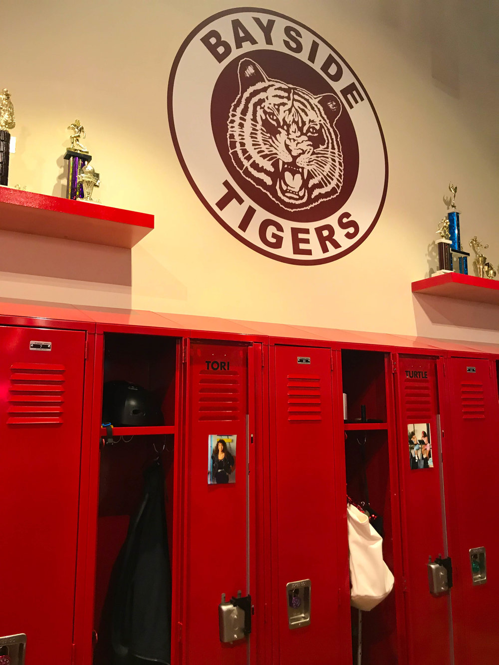 Saved By The Max - Bayside Tigers Lockers