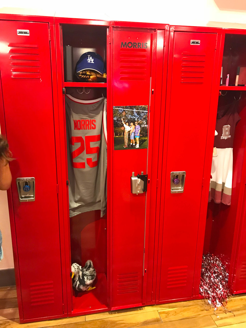 Zack Morris' Locker at Saved By the Max