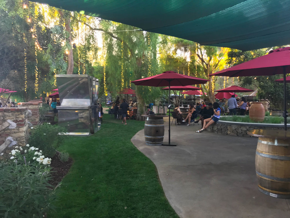 Malibu Wine and Beer Garden - enchanting garden