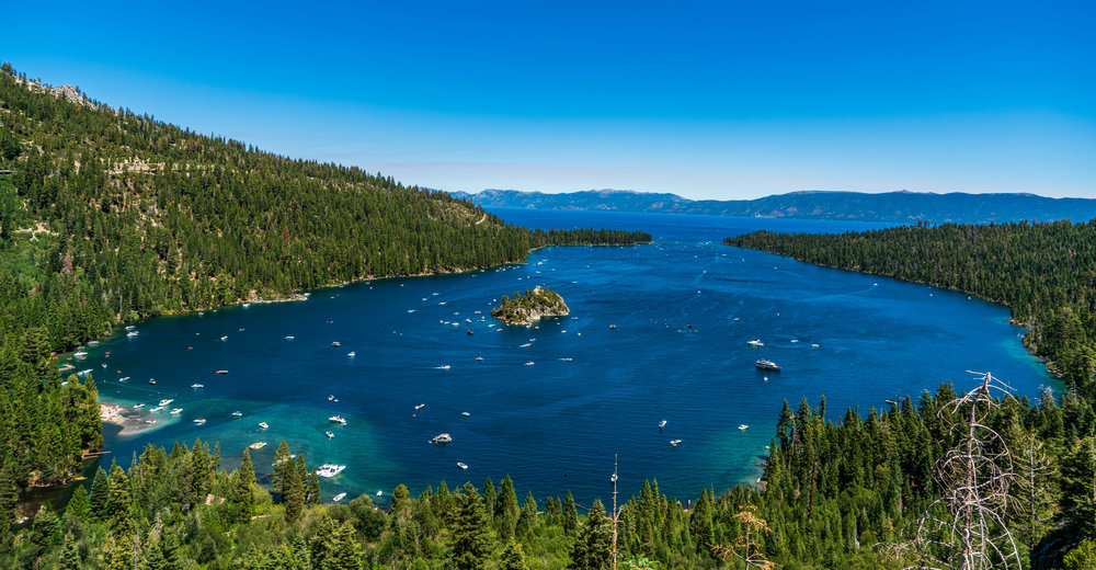 Tahoe 2018 Emerald Bay Hike trails