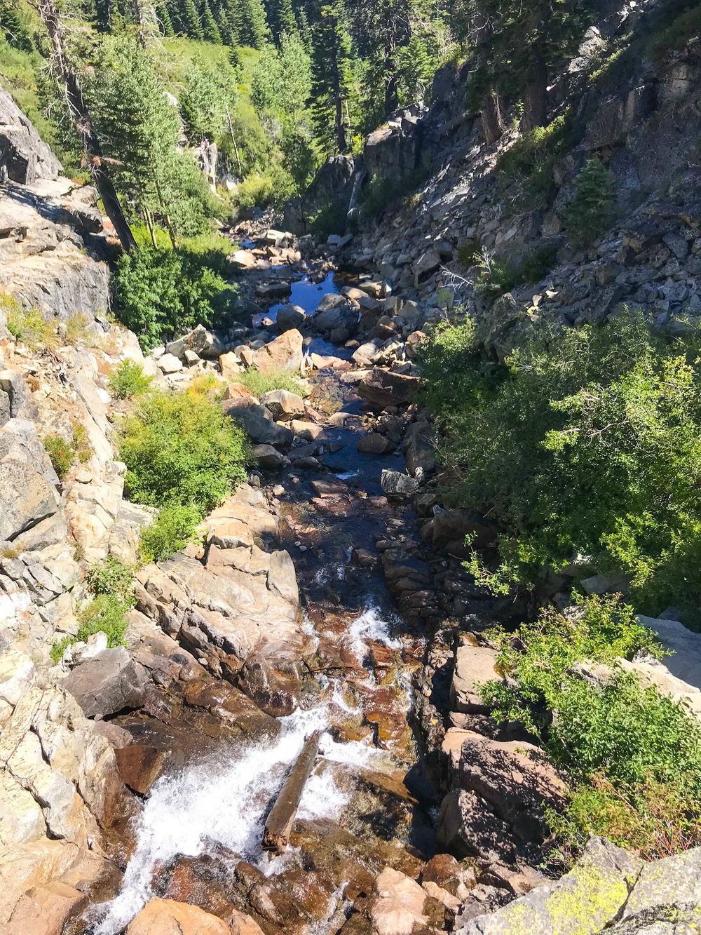 Eagle Falls, Lake Tahoe Hiking Trail