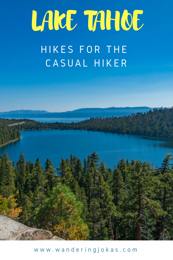 Hikes for the Casual Hiker in Lake Tahoe