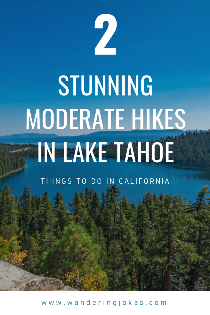 2 Stunning Moderate Hikes for the Casual Hiker in Lake Tahoe