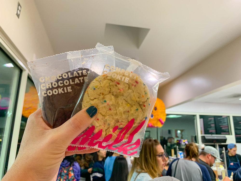 Milk Bar LA - yummy cookies