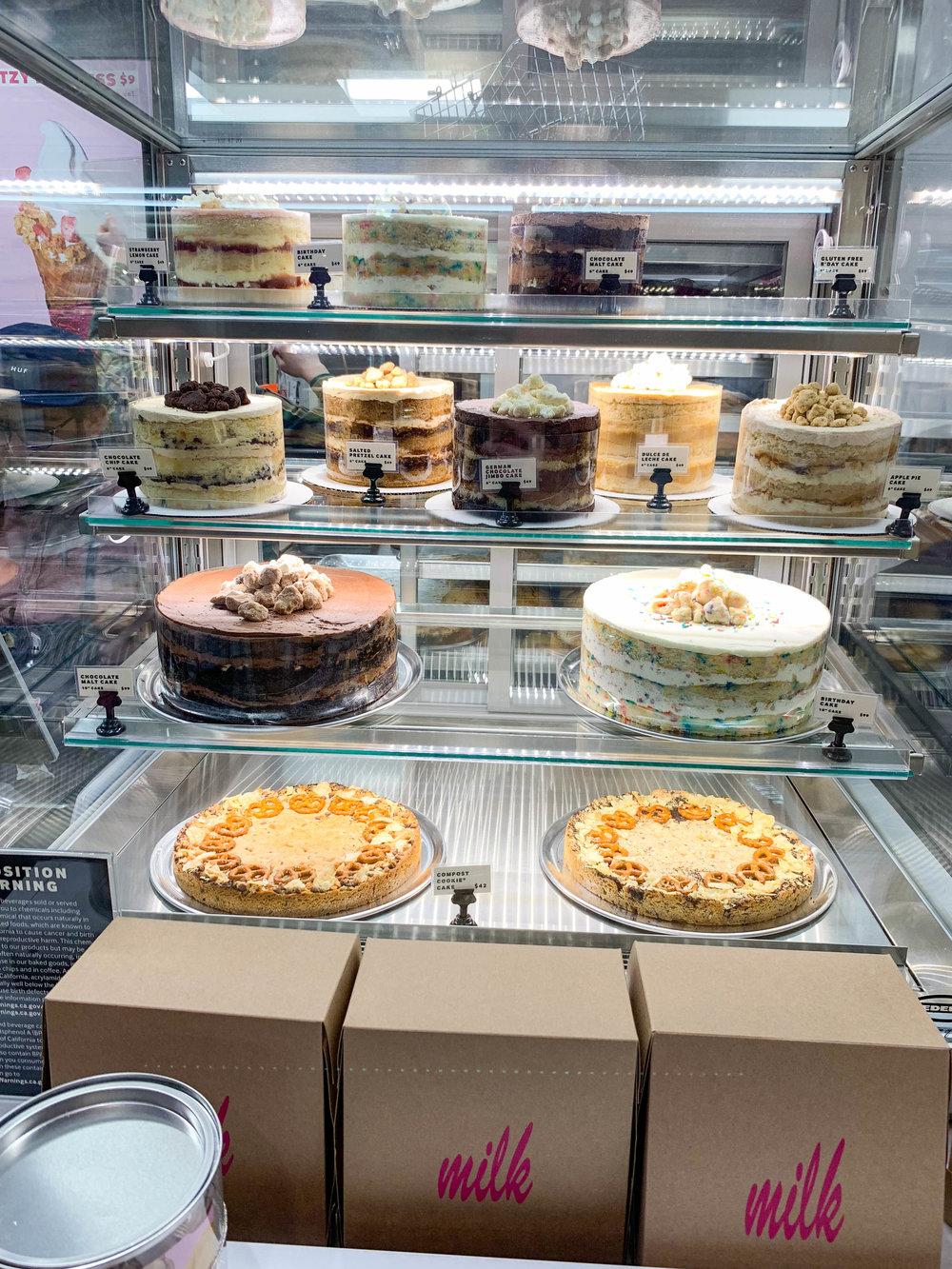 Milk Bar LA - yummy cakes