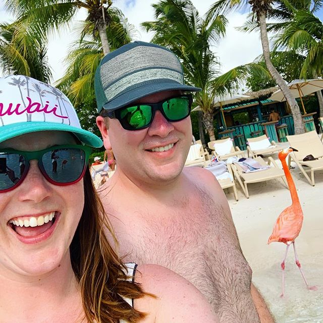 Happy birthday to my love, my ride or die, the sprinkle to my ice cream, my hubs! 💗 I love spending every minute together, living our best lives! Hope your birthday is as special as you are! 🎉🎈🎂🎁🍻 🥩  #happybirthday🎂 #husband #mylove #sweetescapes #flamingoes #flamingo #aruba #travel #travelcouple #love