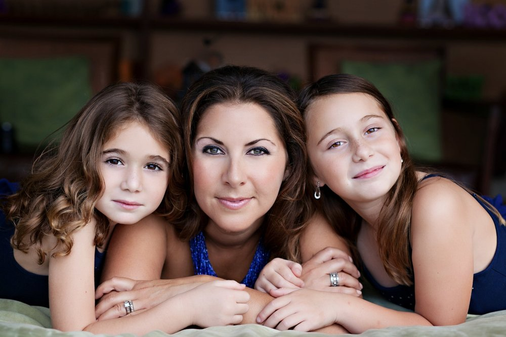 At Home with Mother Daughter Portraits