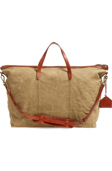 Madewell Transport Weekender in Canvas