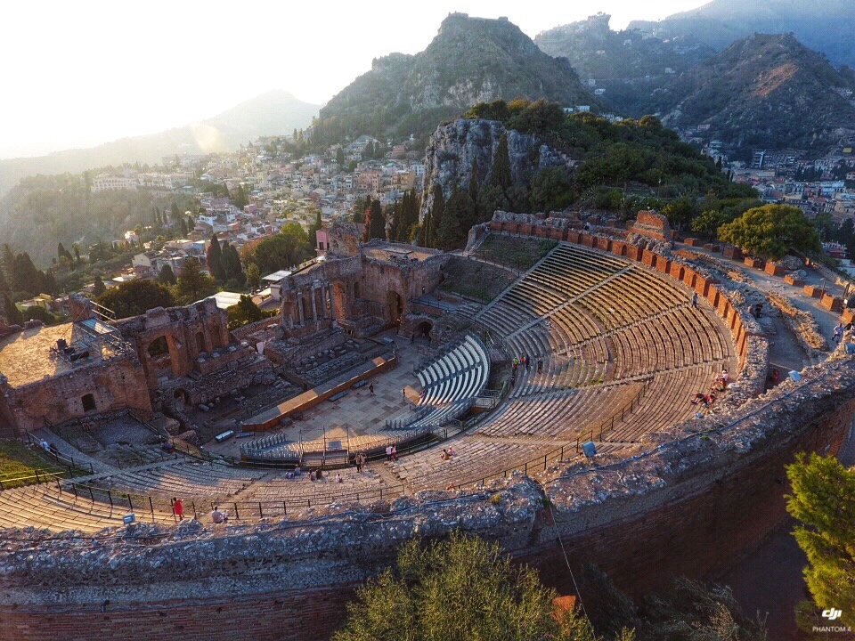 Greek Theater- Taormiona