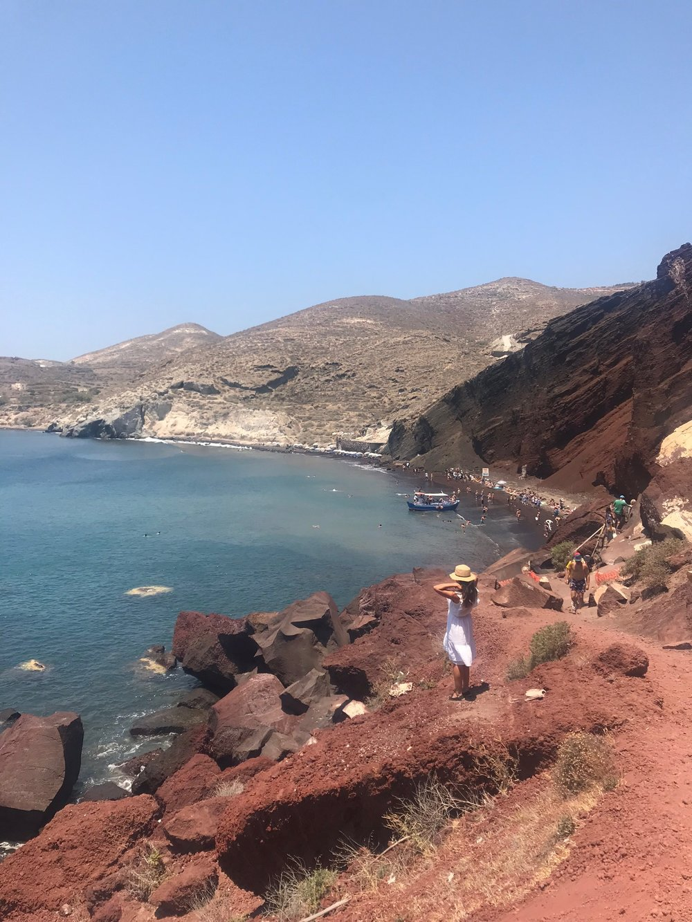 Red Lava Beach