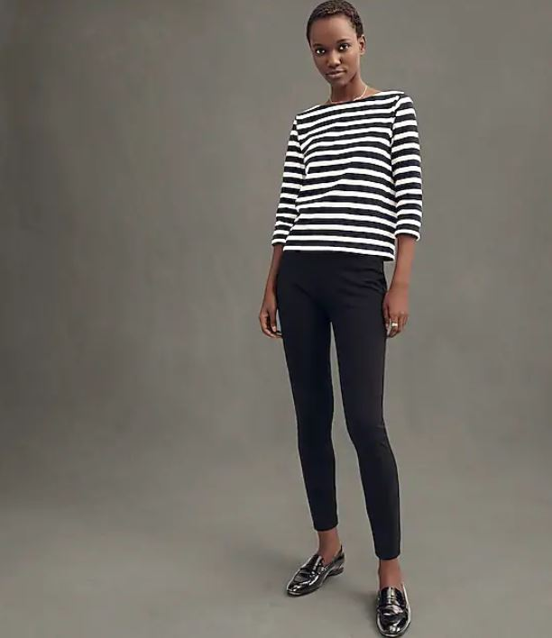 J.Crew  - Any Day Pant in Stretch Ponte $49.50 (orig. $75!!) + 40% off with BIGSALE