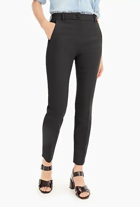 J. Crew  - Women's High-Rise Cameron Pant $89.50 + 40% off with BIGSALE