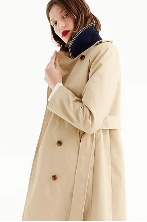 J. Crew  - Women's 2011 Icon Trench $228 + 40% off with BIGSALE