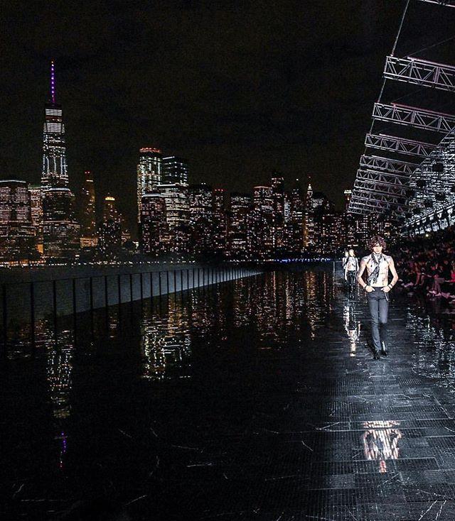 Still dreaming of last nights #saintlaurent show in NYC #yslny