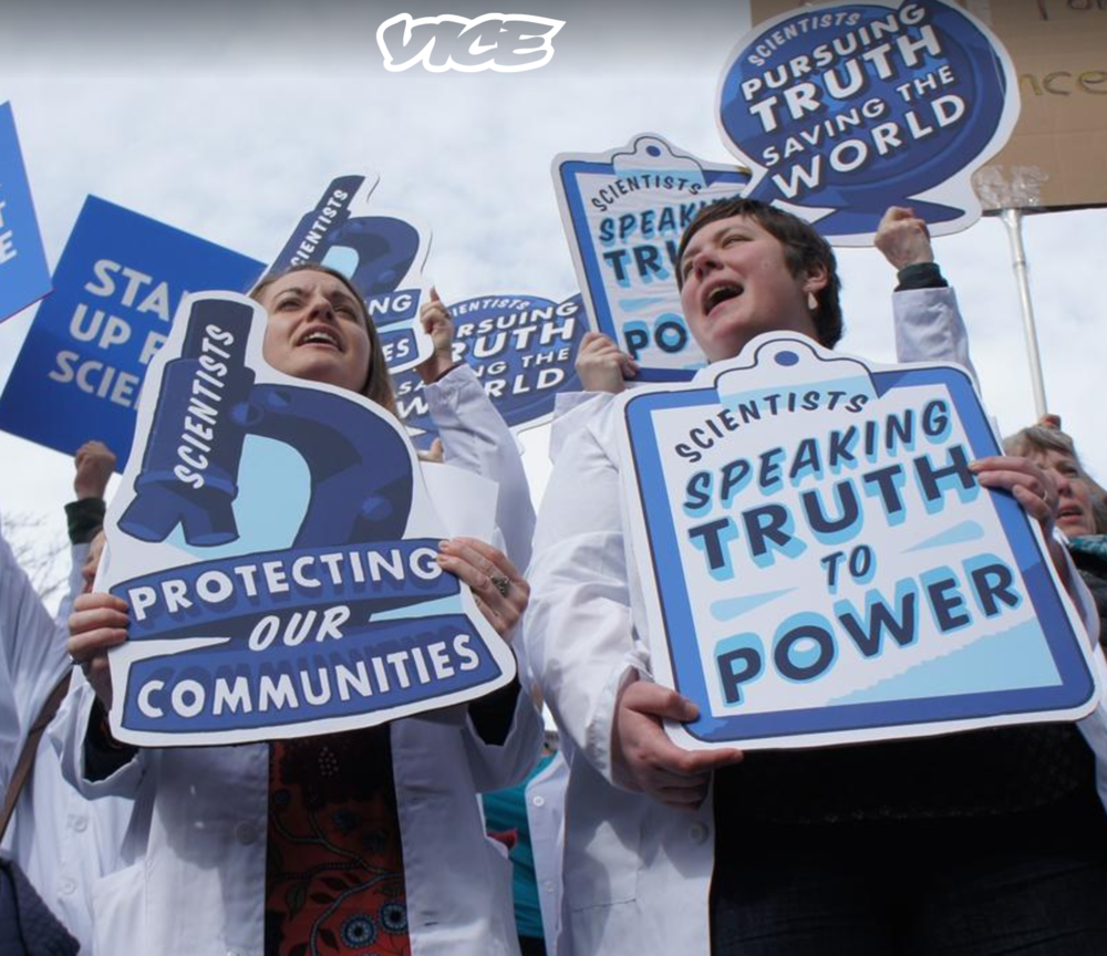 Vice,  Women are leading the pro-science resistance , 23 February 2017