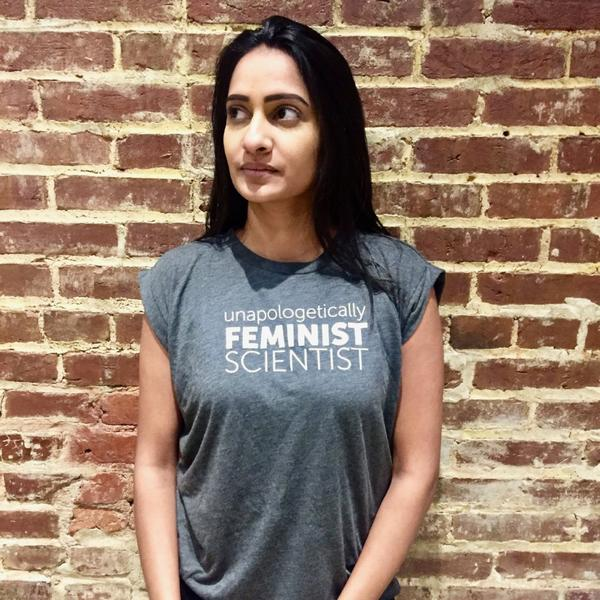 Unapologetically Feminist Scientist Tee -  The Outrage  $32