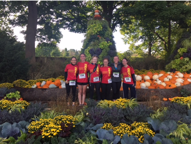 "We ""Ran for Trees"" at the Morton Arboretum last Fall."