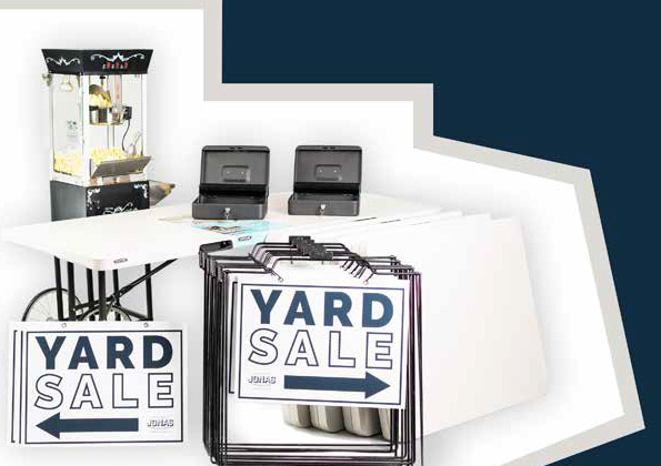 Yard Sale Kit Jonas Elber Realtor