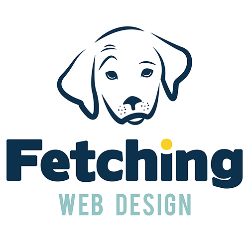 Fetching Web Design Logo