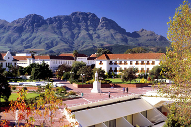 Stellenbosch University, where Jack studies and the Ph.D. Summit will be held.
