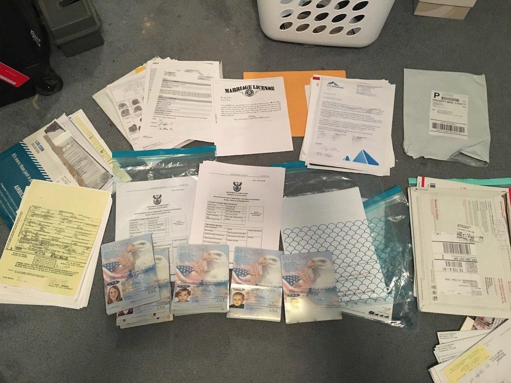 Visas Granted -